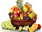 Cos cu Fructe de Craciun